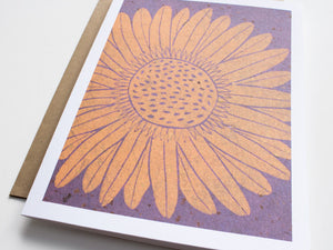 Daisy Note Card Set - Floral Cards - Handmade Cards - The Imagination Spot - 4