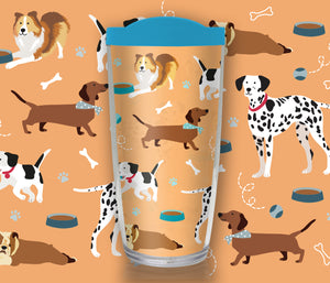 Dog Travel Mug - Drinkware