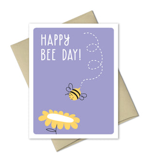 Birthday Card - Happy Bee Day - The Imagination Spot