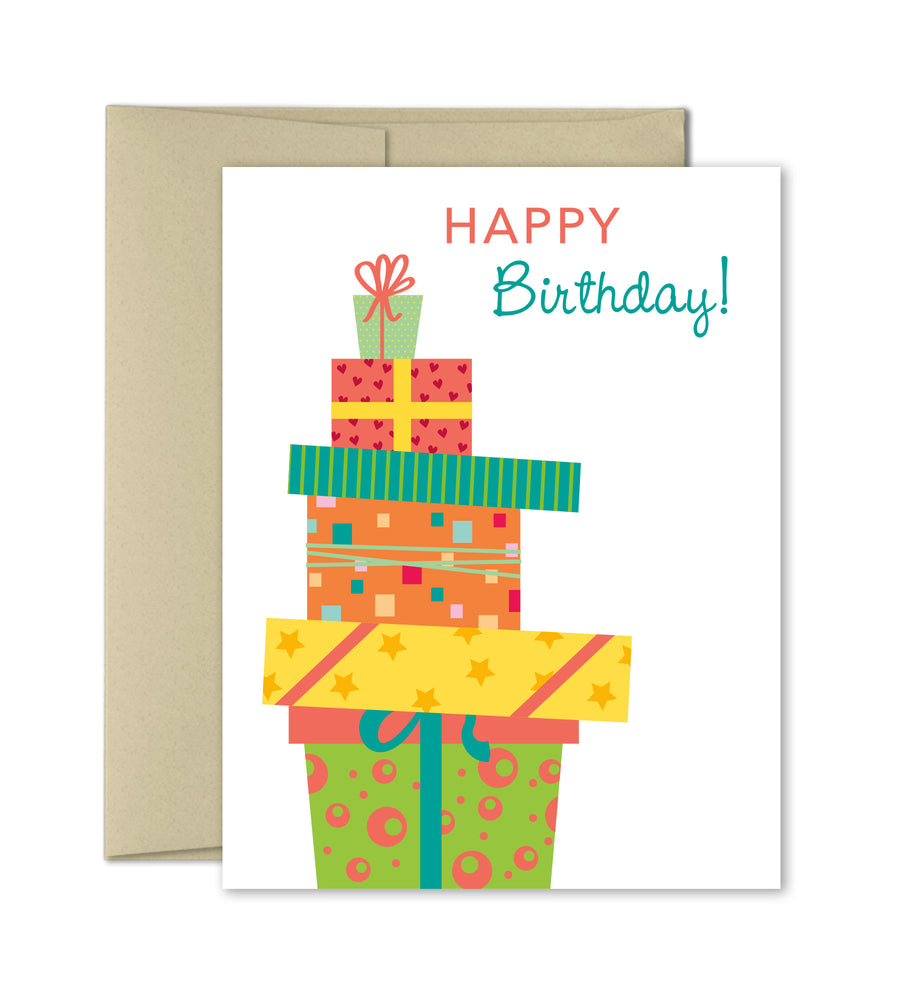 Cute Birthday Card - Birthday Presents