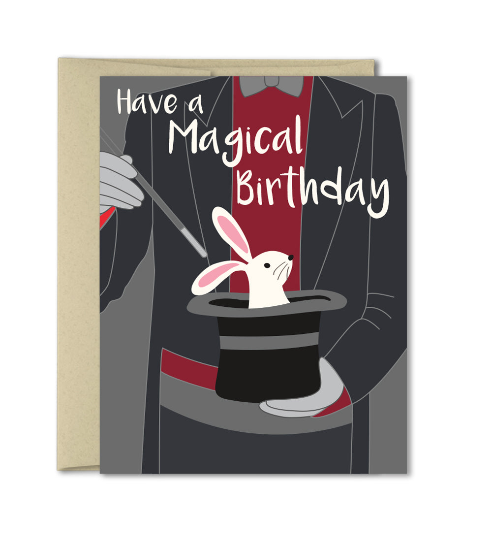 Magical Birthday Card - Unique Birthday Cards by The Imagination Spot