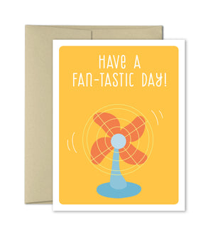 Fantastic day - Hello Greeting Card - The Imagination Spot
