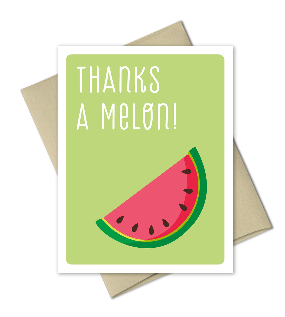 Thank You Card - Thanks a Melon - The Imagination Spot