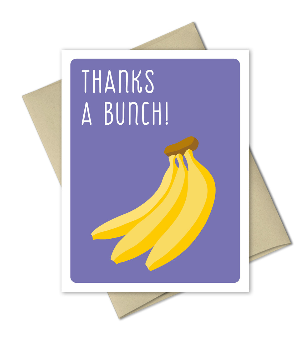 Thank You Card - Bananas Bunch - The Imagination Spot