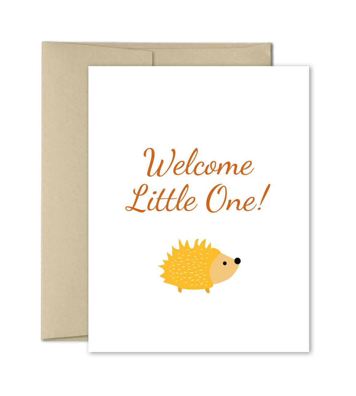 Welcome Little one- New Baby Congrats Card by The Imagination Spot - The Imagination Spot