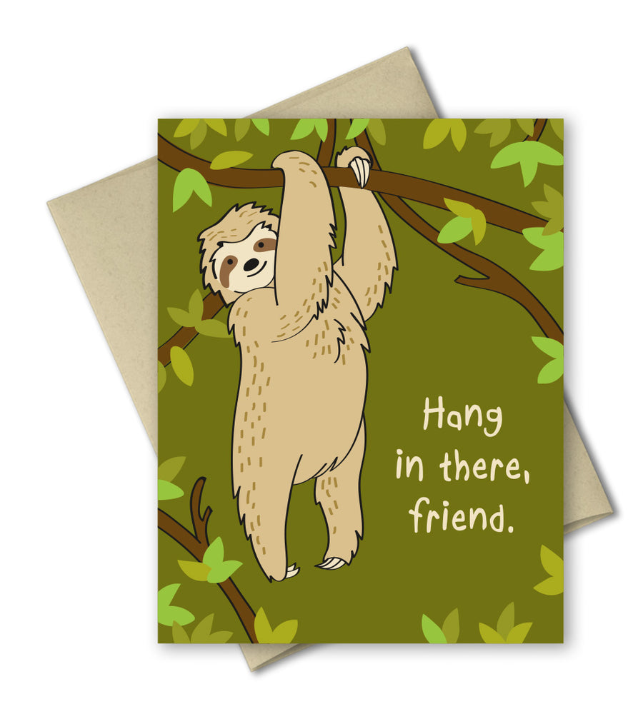 Thinking of You Card - Hang in there