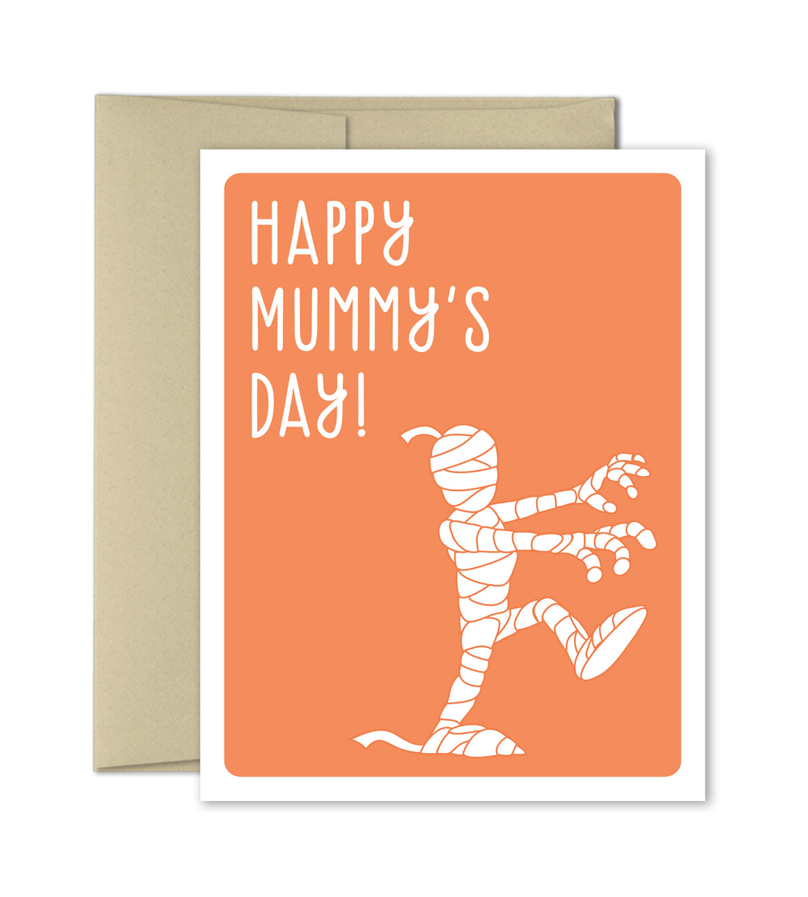 Funny Card for Mom - Happy Mummy's Day - The Imagination Spot - 1