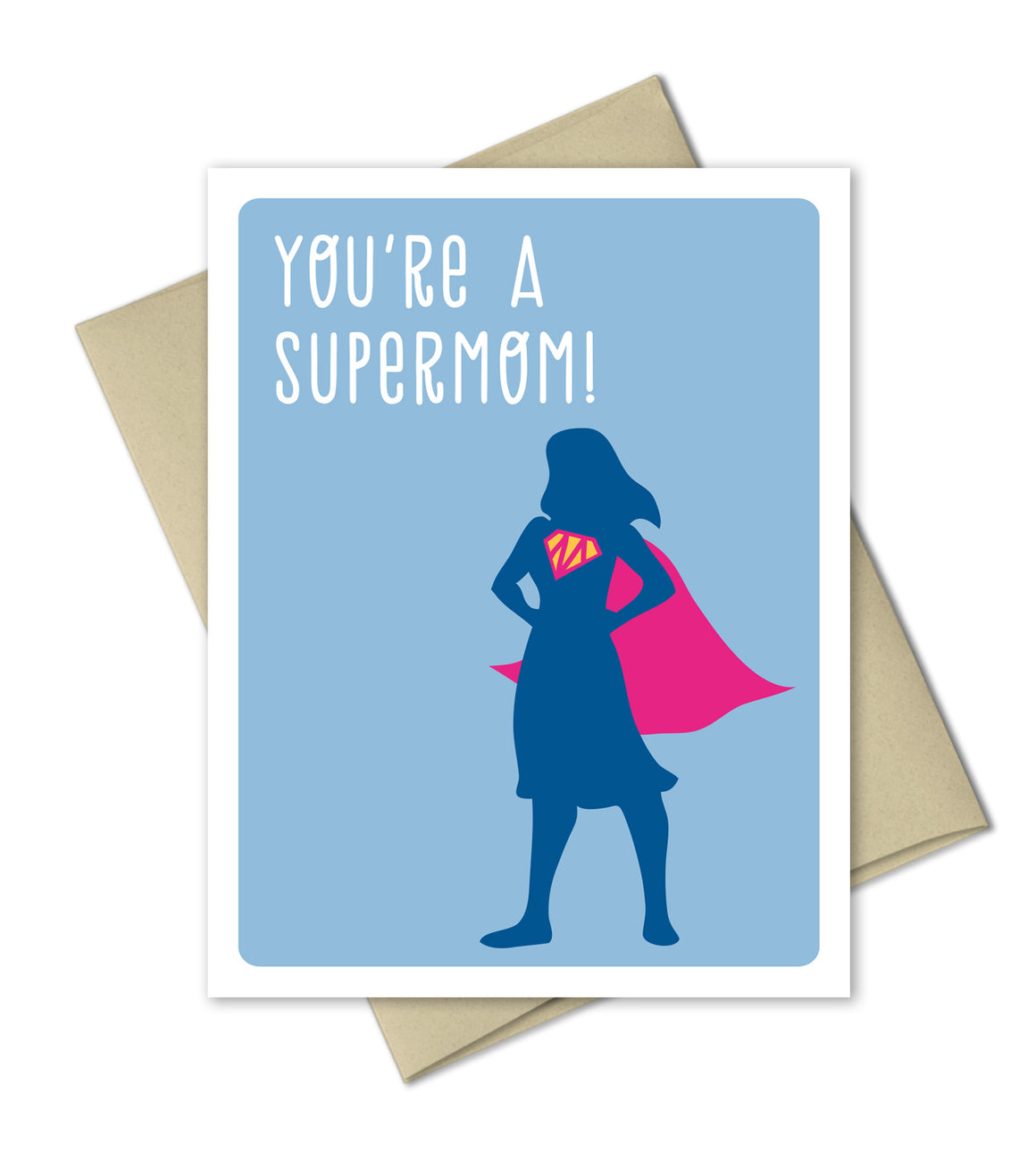 Mother's Day card - Super Mom - The Imagination Spot - 1