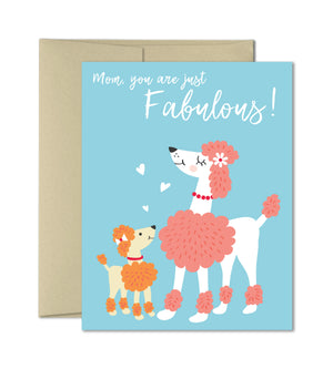 Fabulous Mom - Mother's Day Card by The Imagination Spot