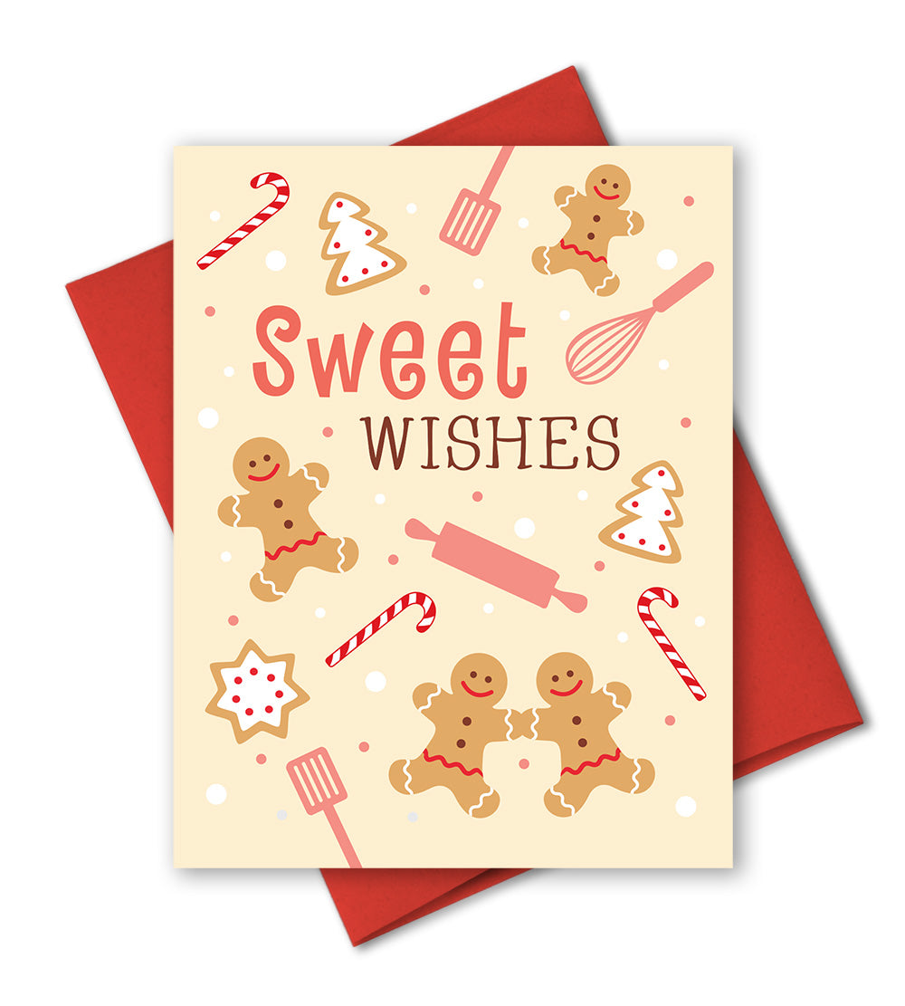 Cute christmas card holiday baking gingerbread cookies the cute christmas card holiday baking the imagination spot m4hsunfo