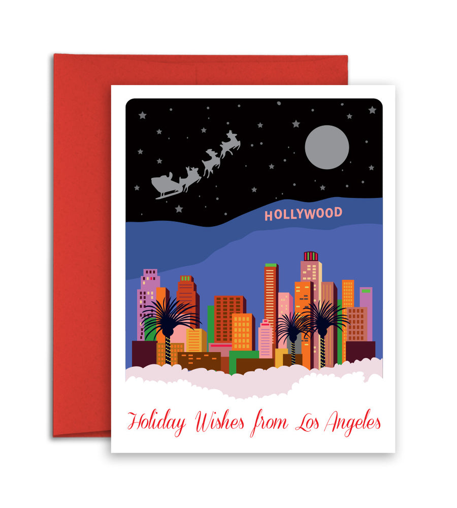 Los Angeles city Christmas Card
