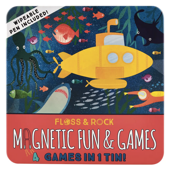 Magnetic Fun & Games Tin - Deep Sea