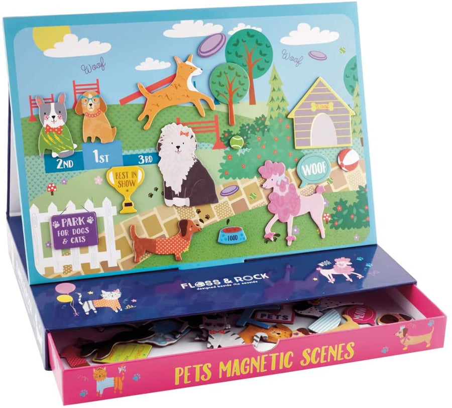 Magnetic Play Scene - Pets