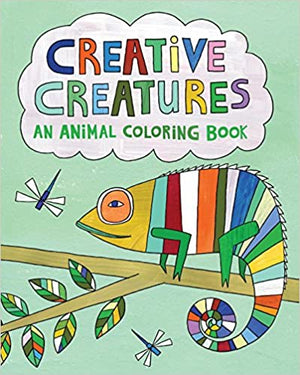 Coloring Book - Creative Creatures