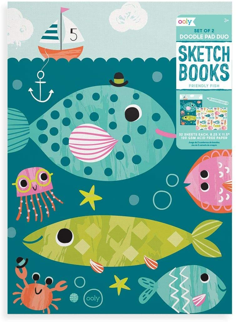 Kids Sketchbook Set - Art supplies for Kids