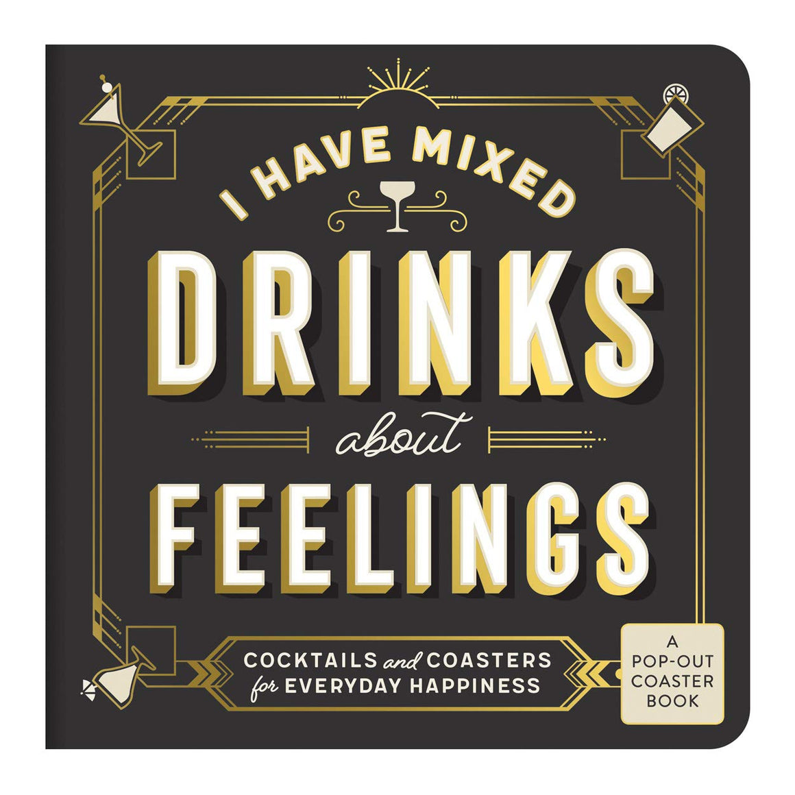 Coasters Pop-out Book - Mixed Drinks