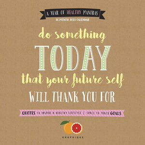 Do Something Today - 2021 Large Wall Calendar