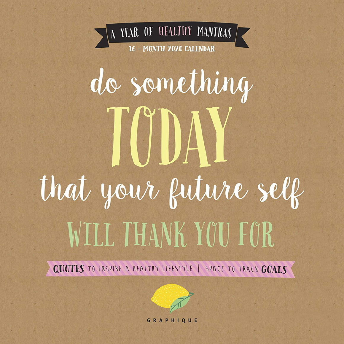 50% OFF - Do Something Today - 2021 Mini Wall Calendar