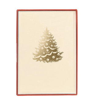 Christmas Tree Card Set - Petit Holiday Cards