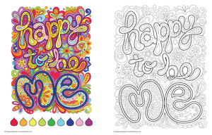 Good Vibes Coloring Book - Enjoy This Moment