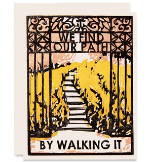 Inspirational Thinking Of You Card - We Find Our Path