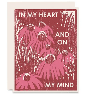 In My Heart - Thinking Of You Card