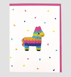 Pinata Decal Greeting Card
