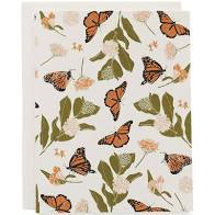 Notecard Set - Monarchs and Milkweeds