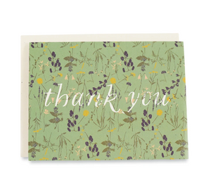 Notecard Set - Wild Thank You