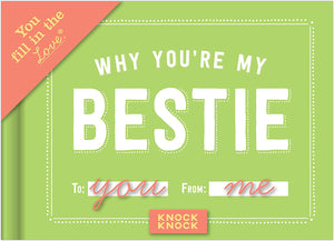 Why You're My Bestie - Fill-in Gift Book