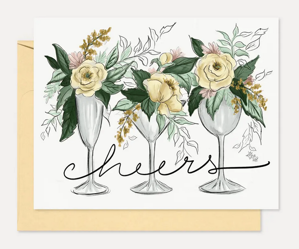 Cheers- Congratulations Card