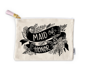 Bride & Party Canvas Pouch
