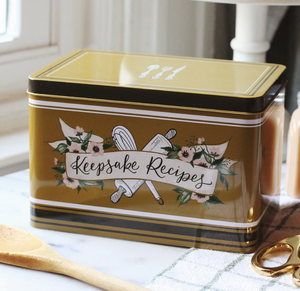Keepsake Recipe Tin