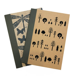 Linocut Pocket Notebook