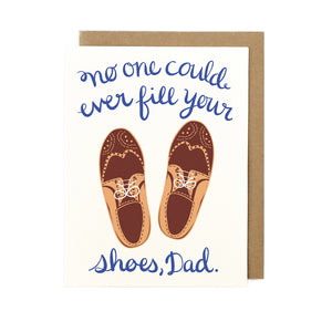 Father's Day Card - Dad's Shoes