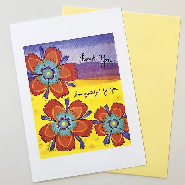 Grateful For You - Thank You Card