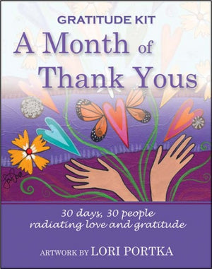 Gratitude Kit - Set of 30 assorted postcards