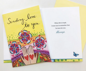 Sending Love - Thinking Of You Card