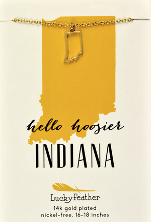 Indiana Necklace - State Love