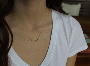 Morse Code Necklace - Various styles