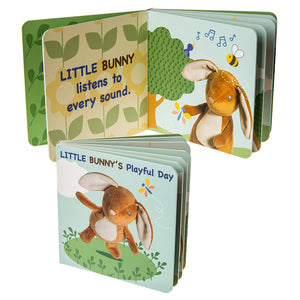 Baby Board Book - Little Bunny's Playful Day
