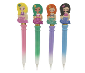 Mermaid Pens - Writing Supplies - Art Supplies