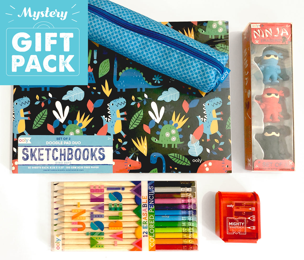 Mystery Art Pack For Kids