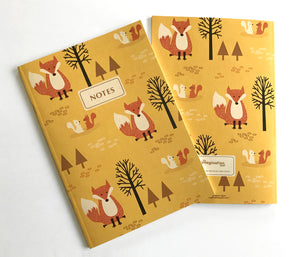 Fox squirrel notebook by The Imagination Spot
