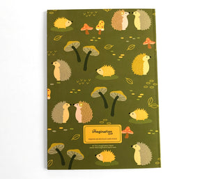 Cute woodland journal by The Imagination Spot