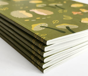 Cute woodland notebook journal