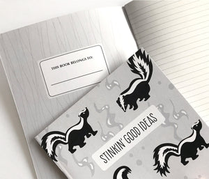 Skunk notebook journal - The Imagination Spot