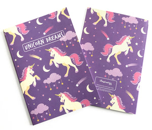 Cute Unicorn Notebook Journal - The Imagination Spot