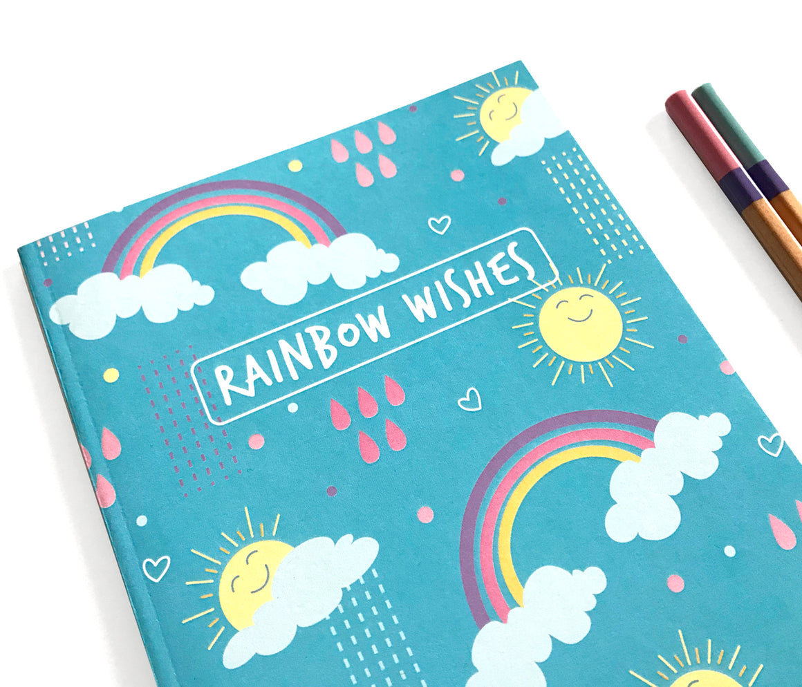 Rainbow Notebook Journal by The Imagination Spot