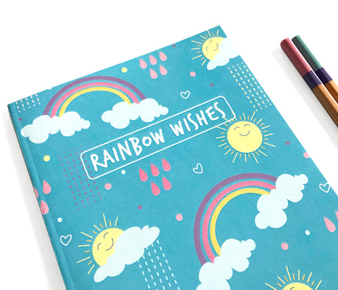 Rainbow Sunshine Notebook Journal